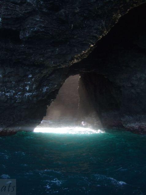 signs cave kauai