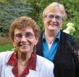 Sr. Bock and Sr. Hirschenberger, founders of Womanspace