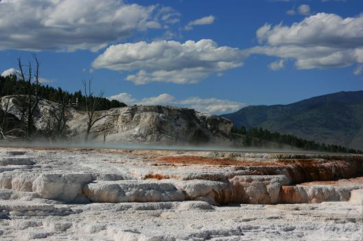 Mammoth Springs at Yellowstone