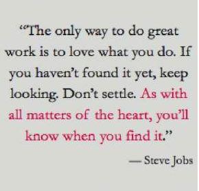 passion jobs quote
