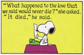 passion snoopy writing
