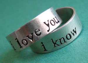 i love you i know