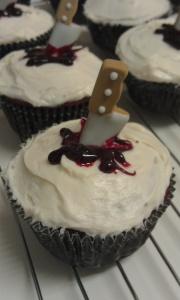 stab cupcake